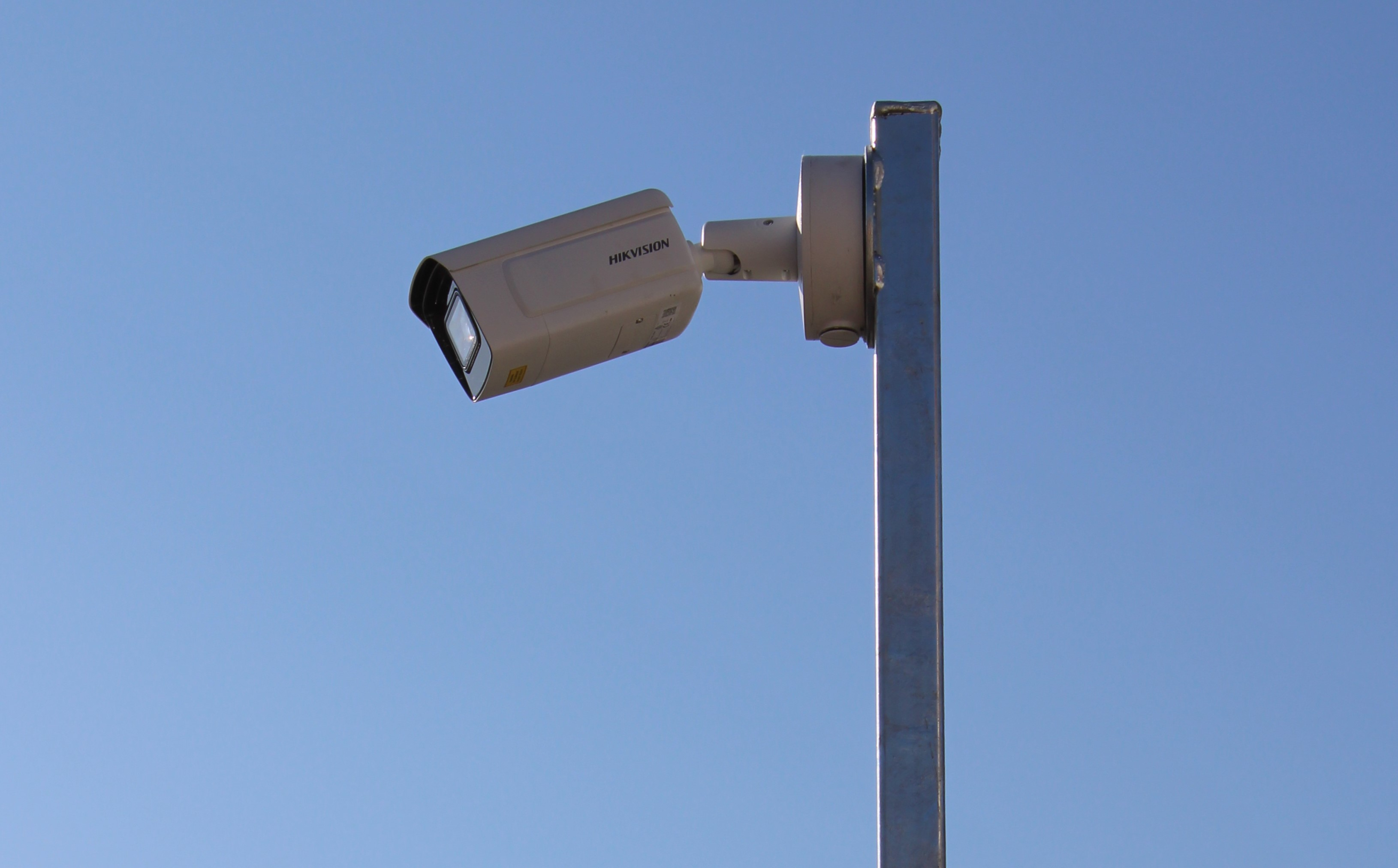 CCTV installation to monitor traffic control barrier in Somerset